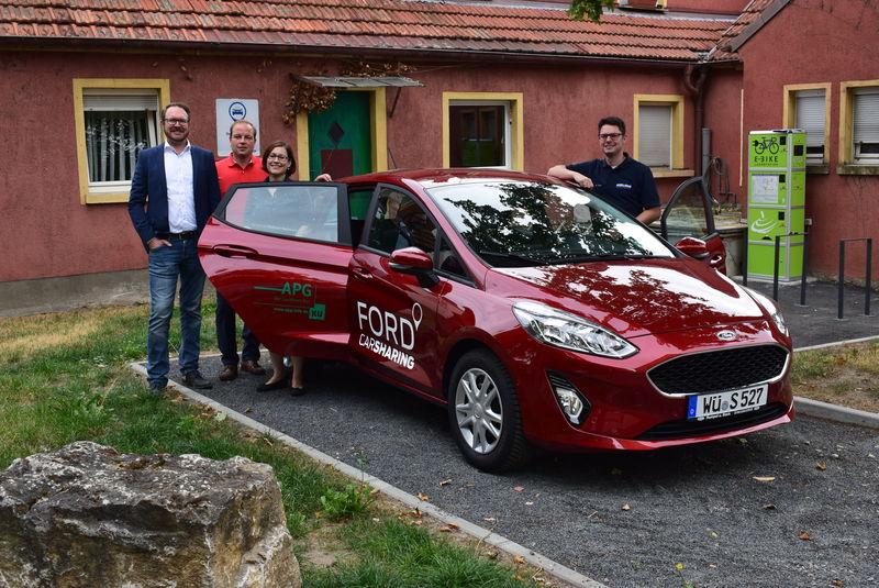 Das 2. Carsharing-Auto in Gerbrunn